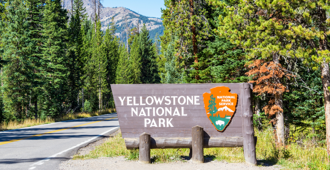 Yellowstone National Park's Montana entrance opened today