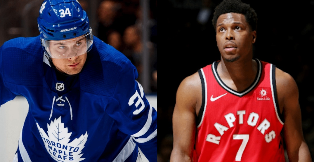 Auston Matthews and Kyle Lowry speak out against racism