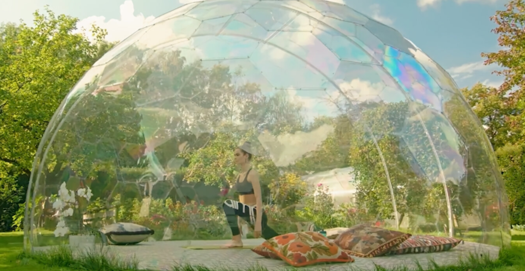 Yoga-in-a-dome is coming to Toronto this summer (VIDEO)
