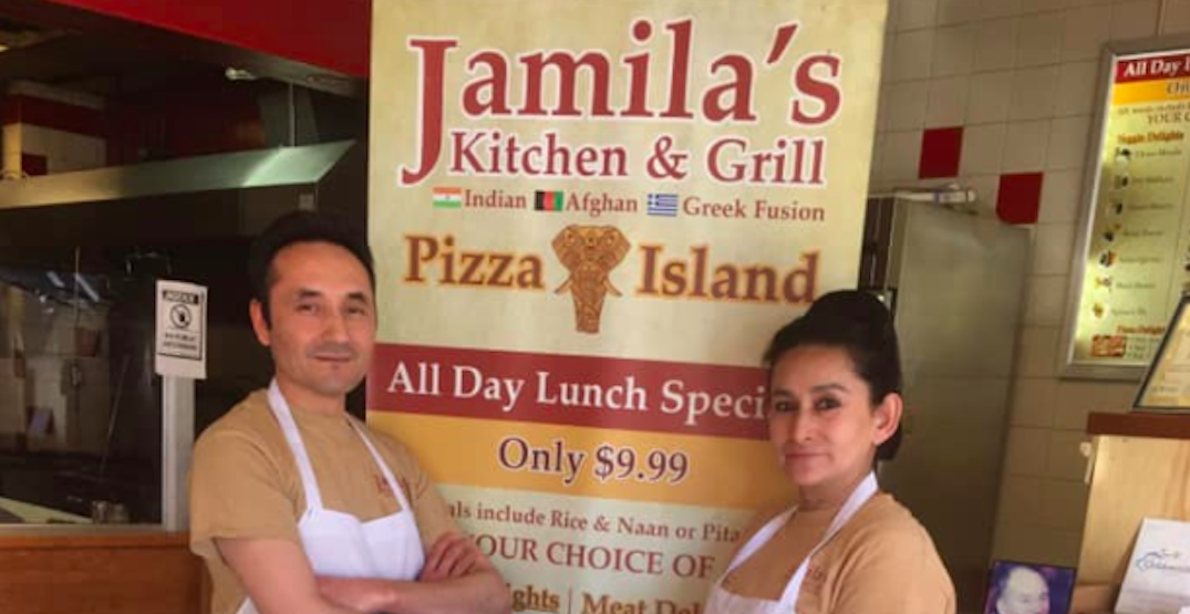 Jamila's Kitchen in Coquitlam is offering free meals to frontline workers