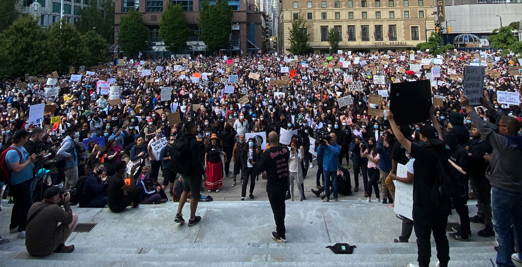 BC health officials encourage anti-racism rally attendees to monitor for COVID-19 symptoms
