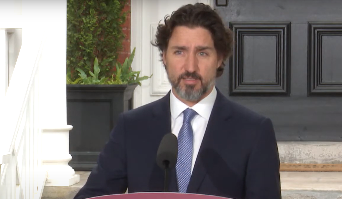 "Trudeau doesn't say Trump's name as he addresses ""horror"" in the US"