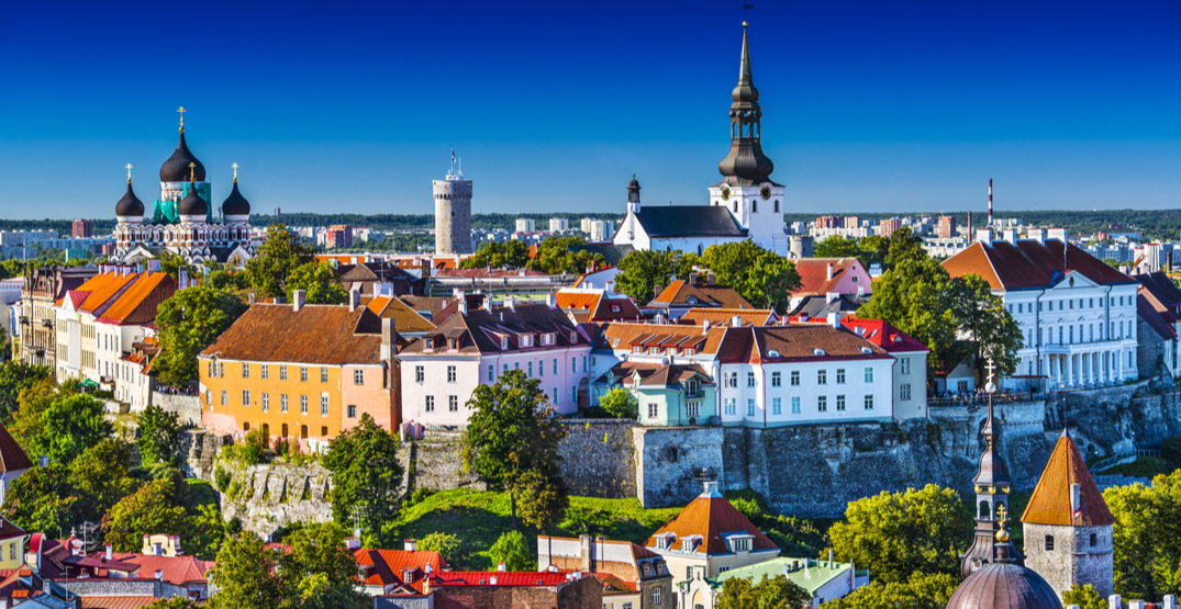Travellers from these countries can visit Estonia without quarantining