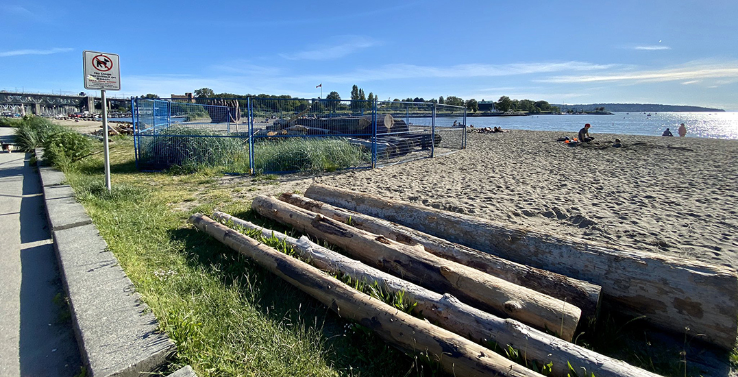 Vancouver Park Board returns beloved logs to local beaches