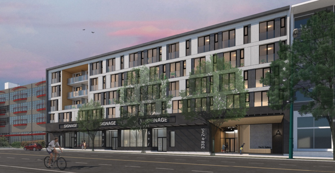 Rental homes for artists proposed next to future SkyTrain station in Mount Pleasant