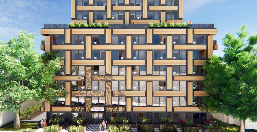 Social housing with a First Nations basket weave design proposed for Vancouver