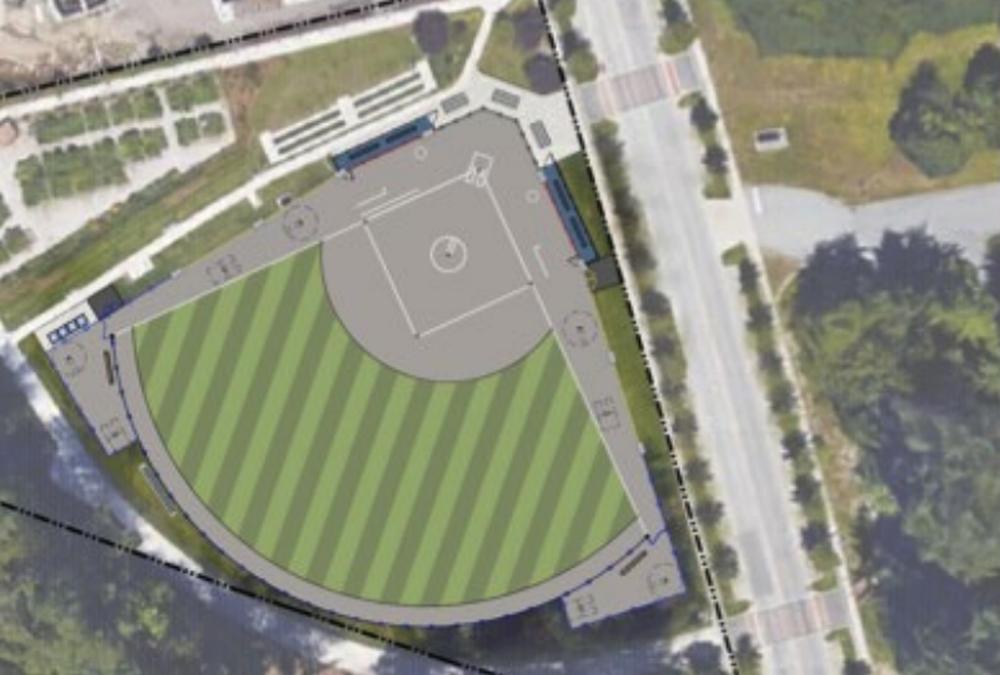 UBC Nobel Park softball field