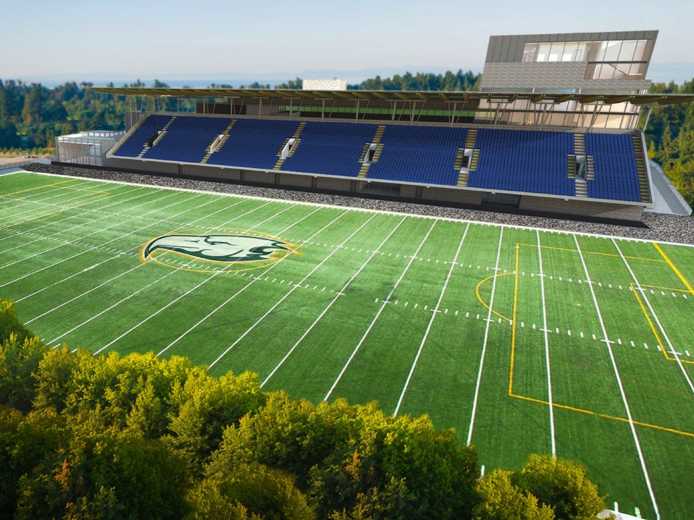 new ubc thunderbird stadium
