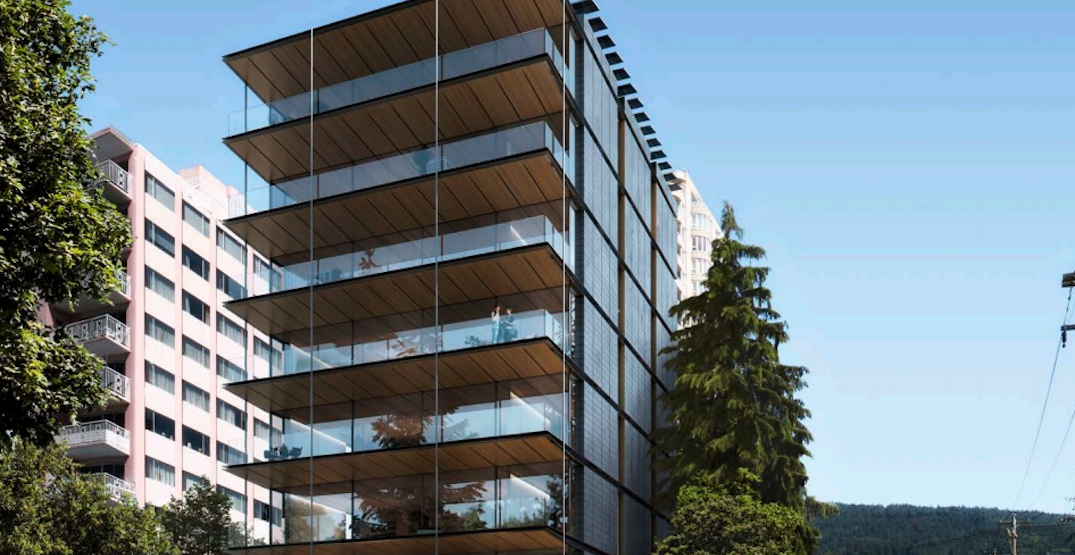 Mass timber Passive House condo building proposed for West Vancouver