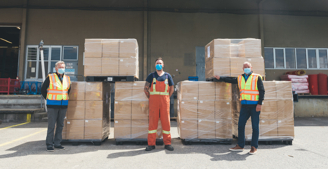 concord pacific face mask donation
