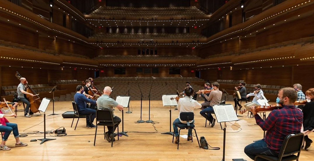 The Montreal Symphony Orchestra is performing a free live show tonight