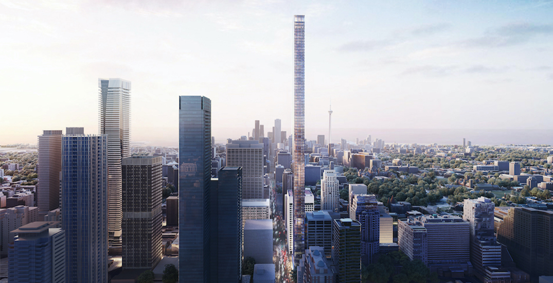 87-storey skyscraper proposed for downtown Toronto