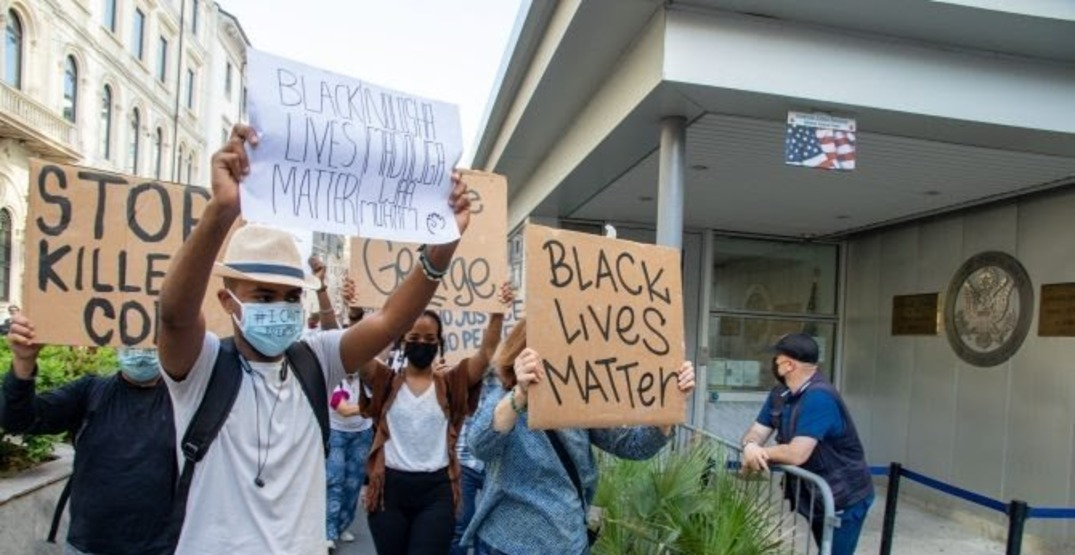 Protests for George Floyd continue around the world (VIDEOS)