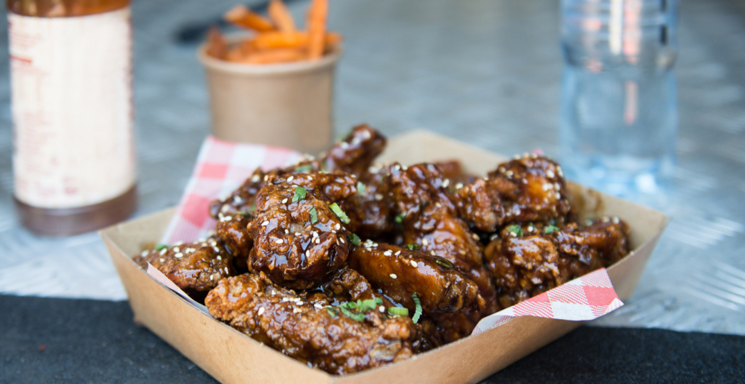 Calgary's getting a brand new chicken wing food truck