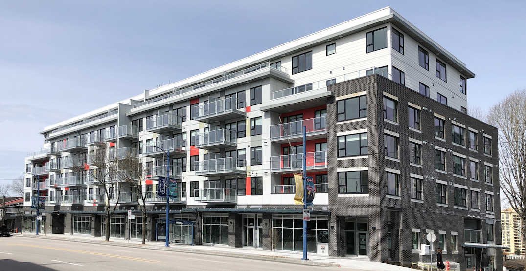 Rental 100 housing on Kingsway near Boundary Road reaches completion