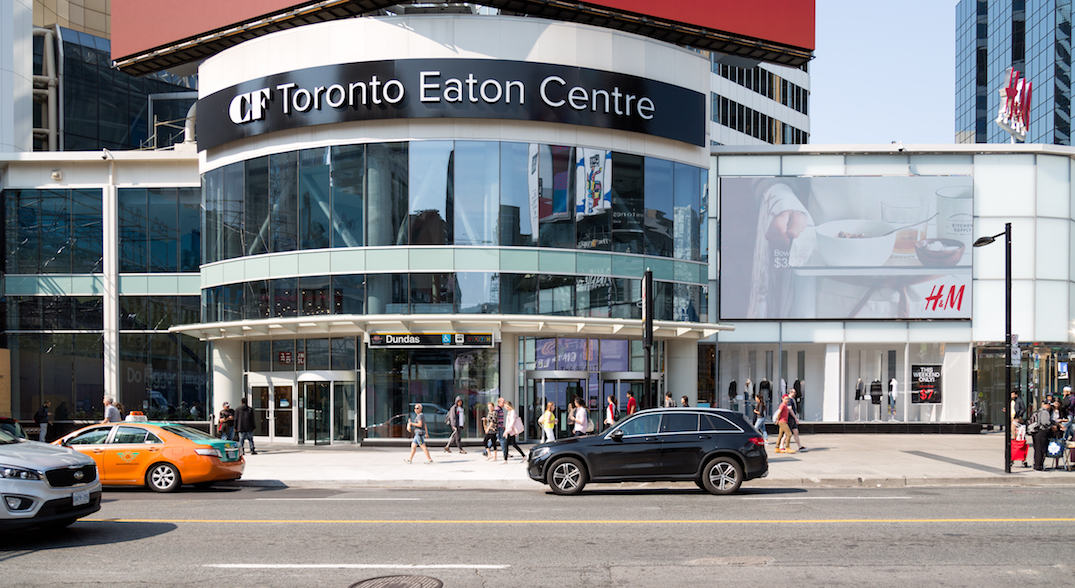 Another Toronto Eaton Centre store reports positive coronavirus case