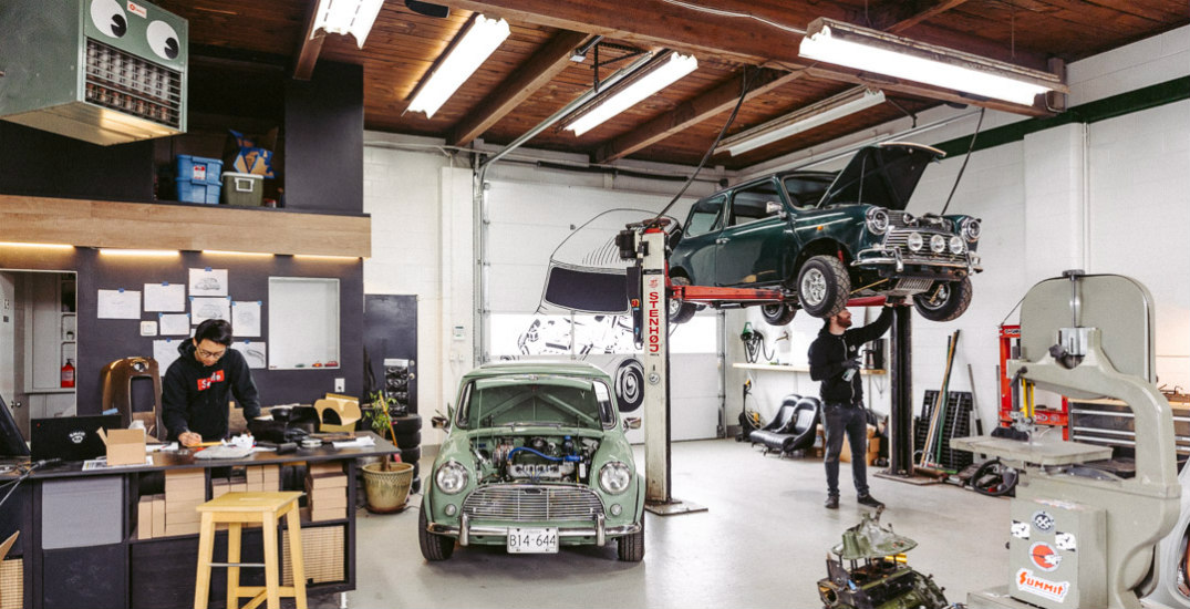 Classic car shop puts the pedal to the metal to survive the pandemic