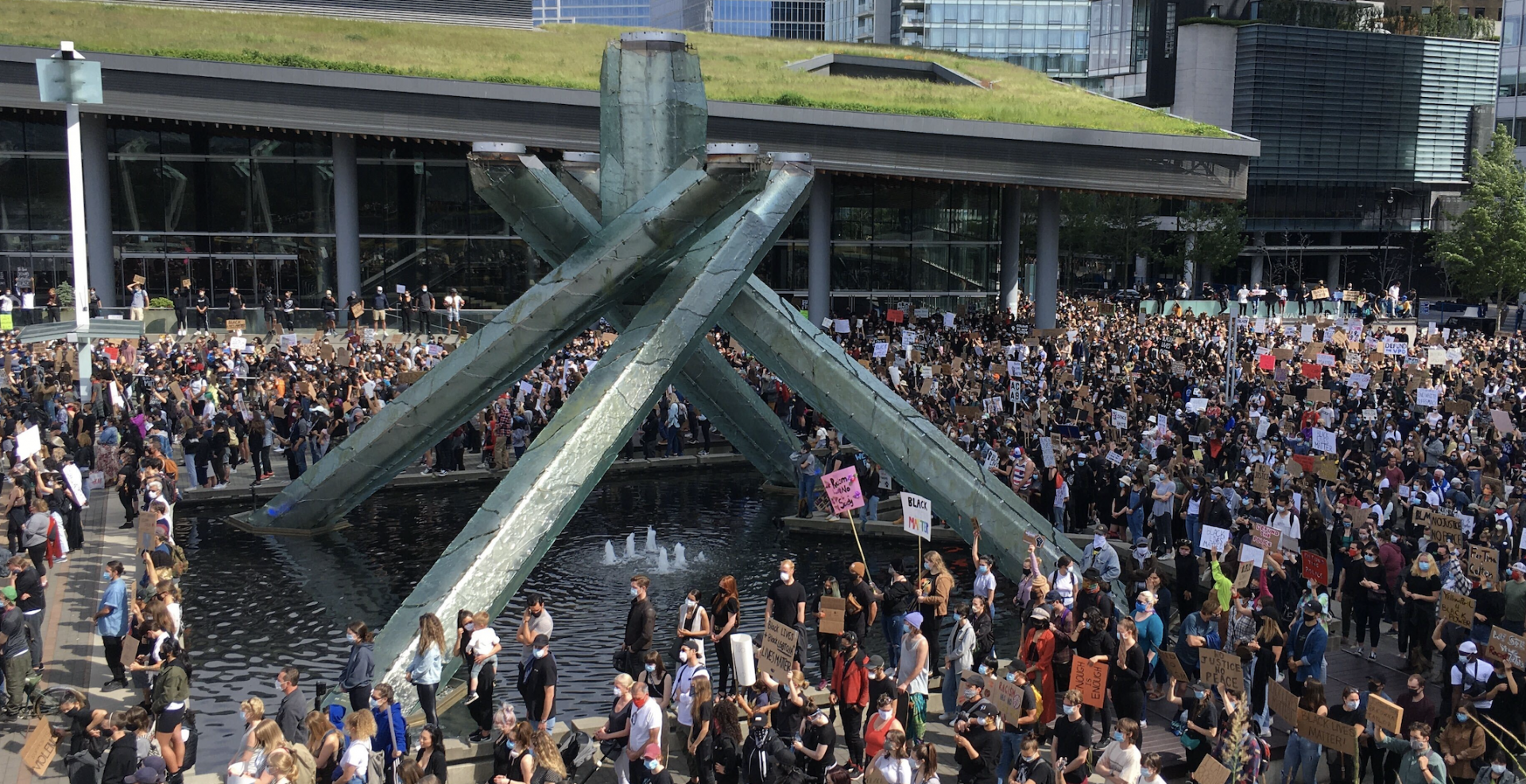 Protesters in Vancouver call for end to police brutality, anti-Black racism