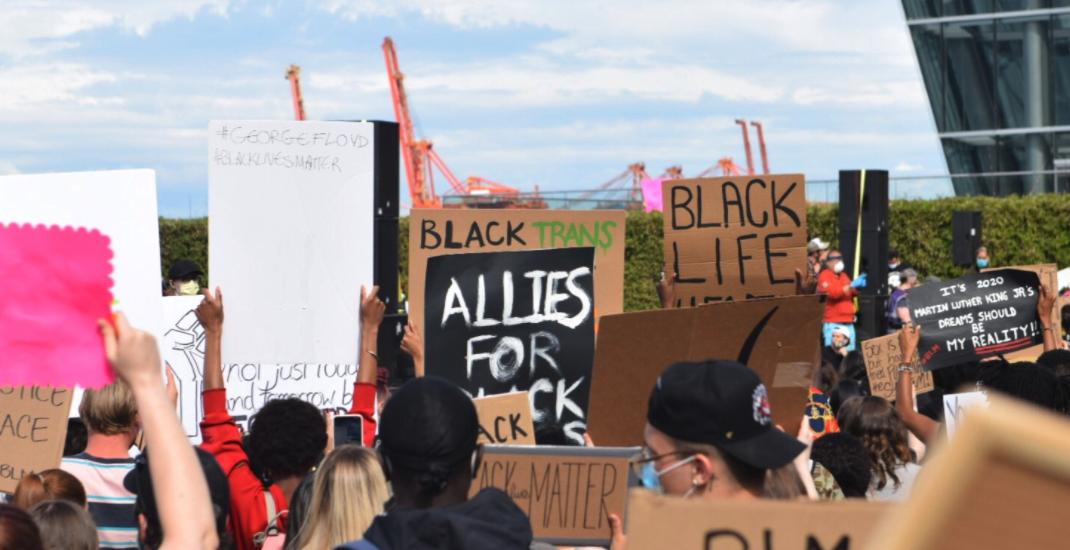 "Protest organizers shine ""powerful spotlight"" on injustice: Vancouver mayor"