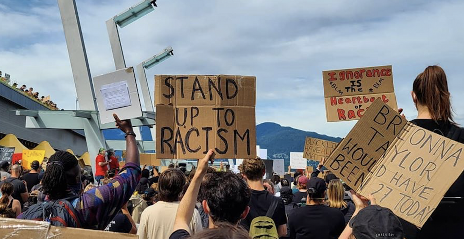 Thousands take stand against racism at massive Vancouver protest (PHOTOS)