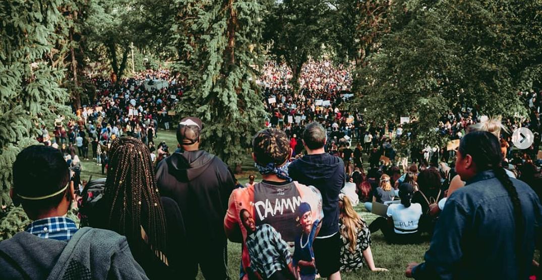 Thousands show up to Edmonton anti-Black racism rally (PHOTOS)