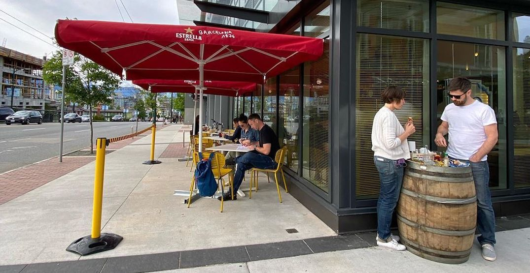 Some Vancouver restaurants left waiting for a temporary patio permit