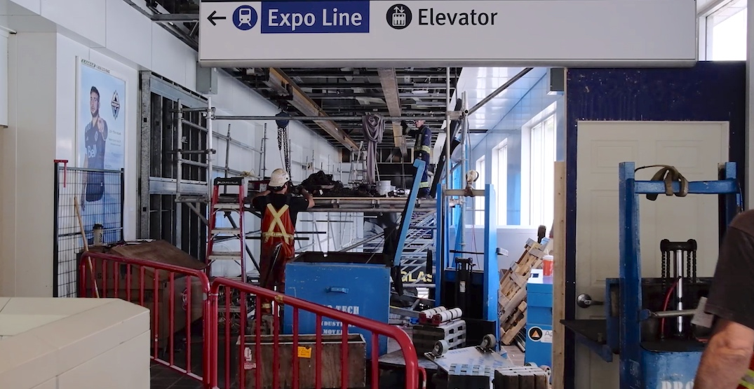 Main entrance for Waterfront Station's Expo Line to close for three-week renovation
