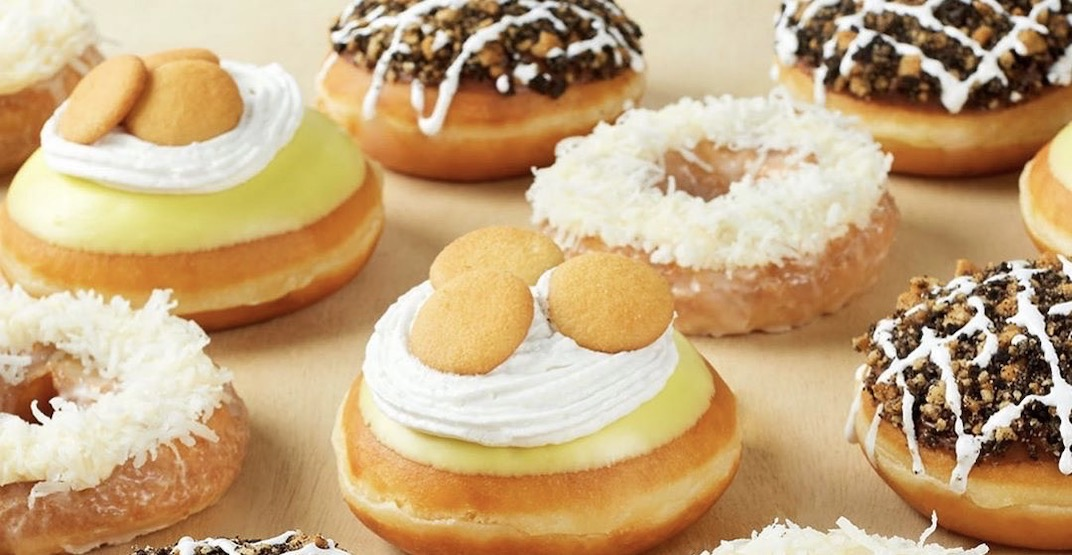 Krispy Kreme just released the ultimate mashup doughnut series