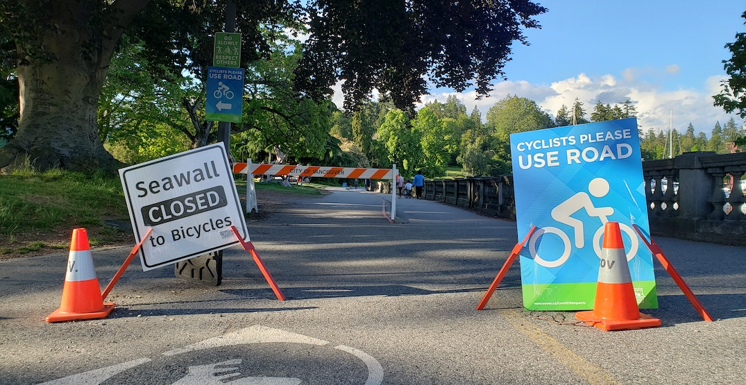 Stanley Park to reopen to all cars in a few weeks