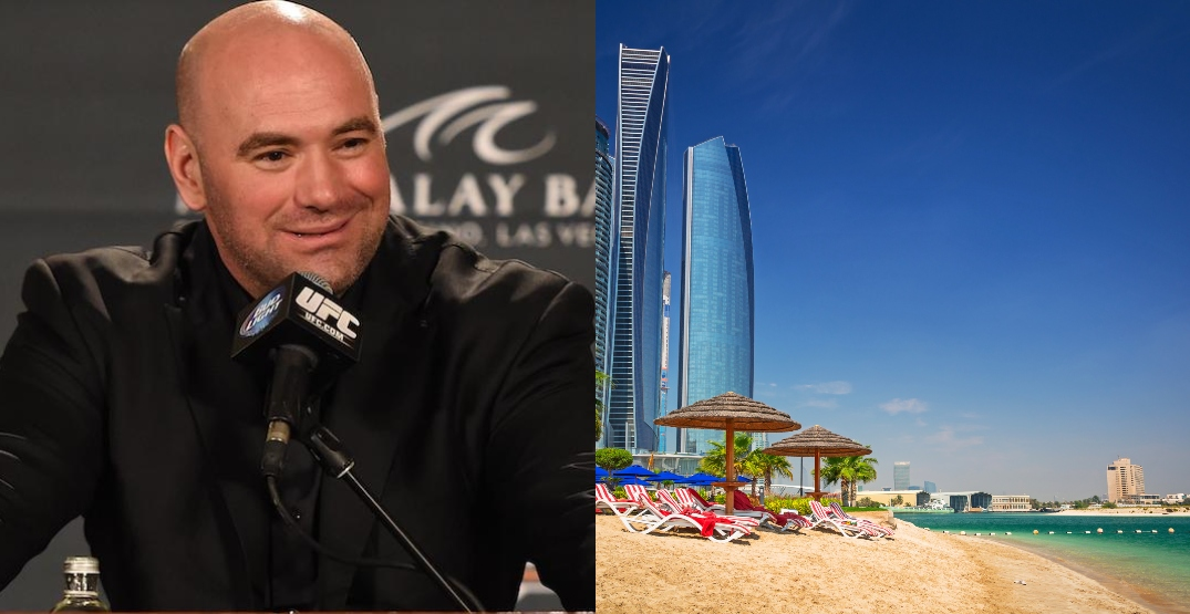"Dana White finally reveals the location of UFC's ""Fight Island"""