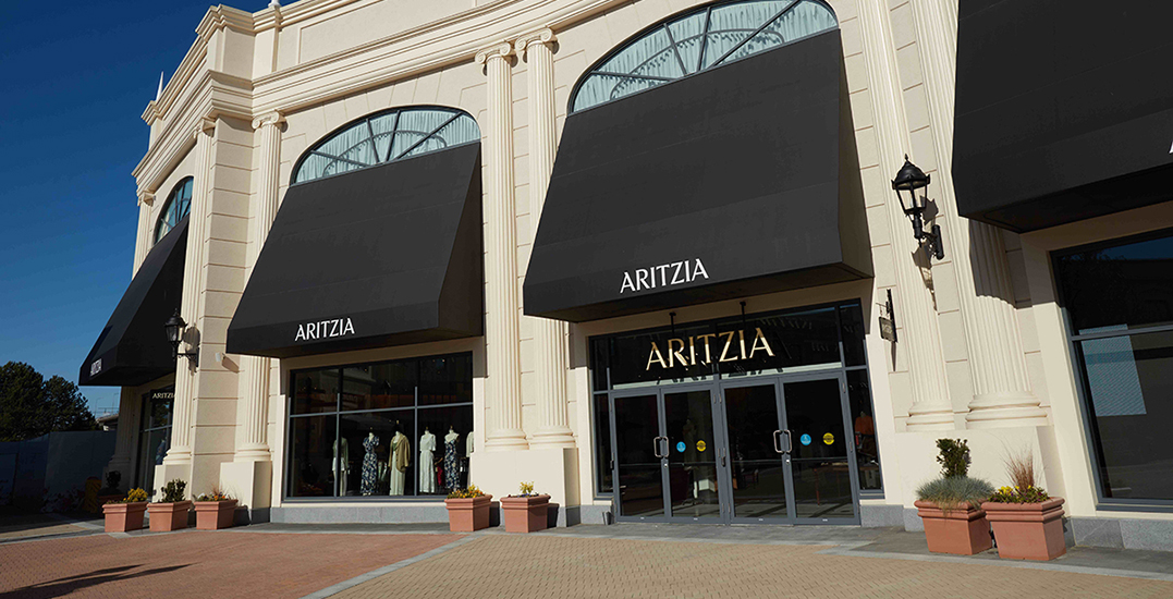 Aritzia's new massive outlet store opens at McArtherGlen (PHOTOS)