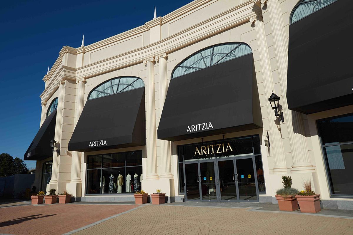 aritzia outlet store