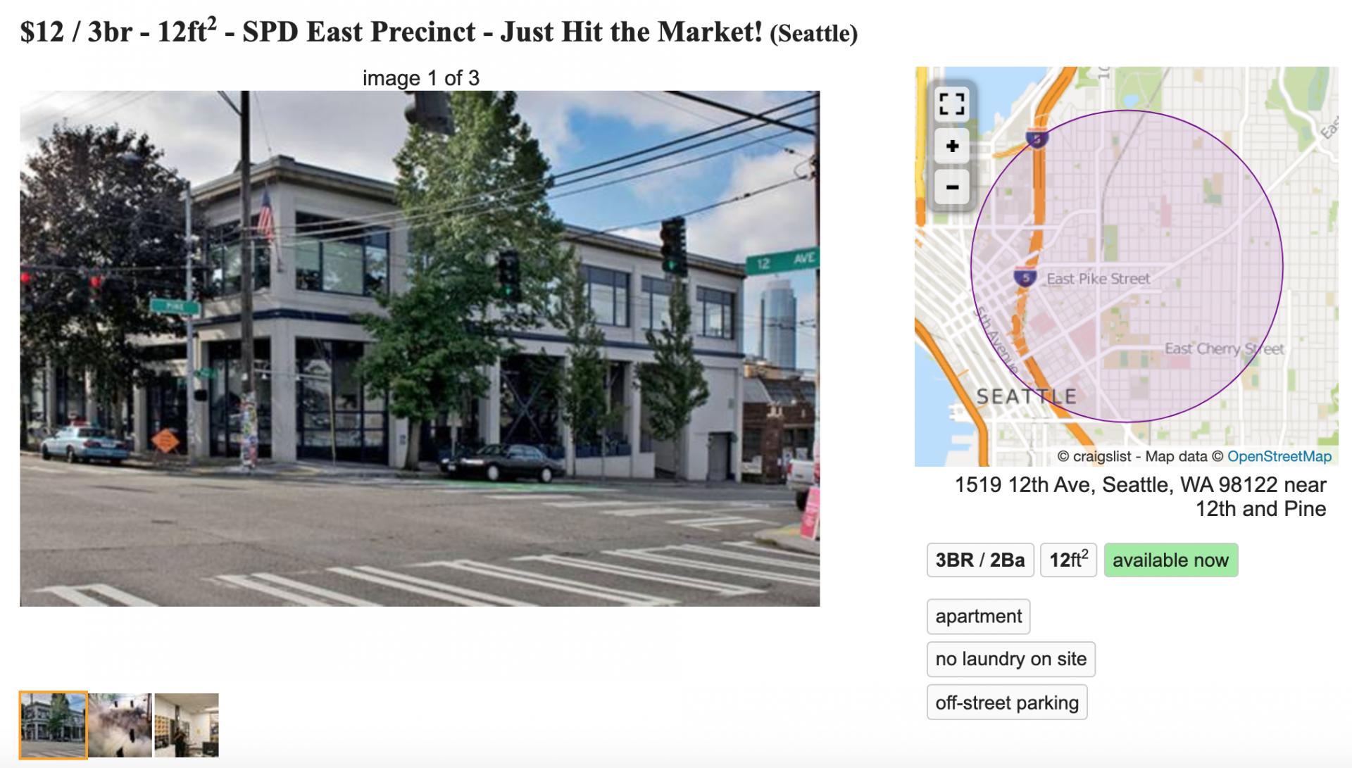 East Precinct Seattle