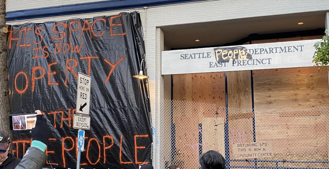 Someone listed the Seattle Police Department East Precinct on Craigslist