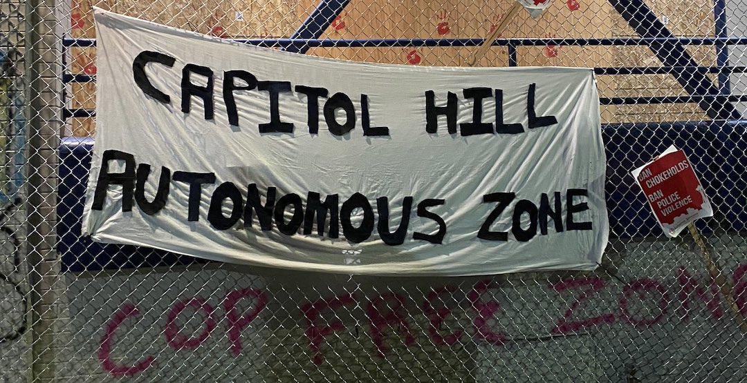 Here's what's happening at the Capitol Hill Autonomous Zone