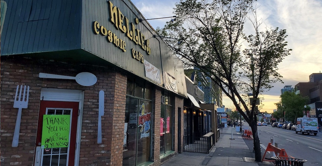 Nellie's Cosmic Cafe has closed permanently after 20 years of business