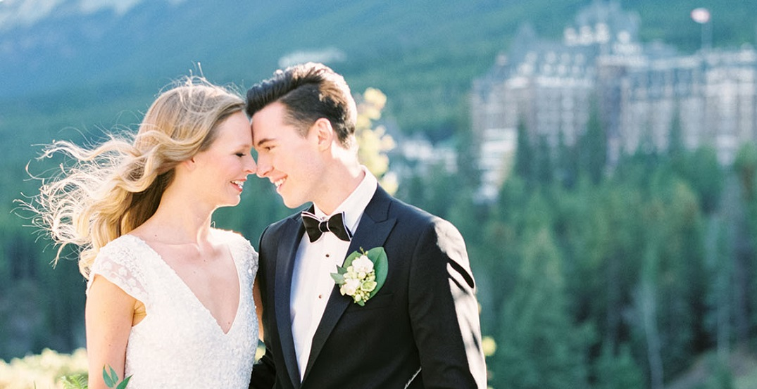 Fairmont Hotels offering affordable elopements in the Rocky Mountains