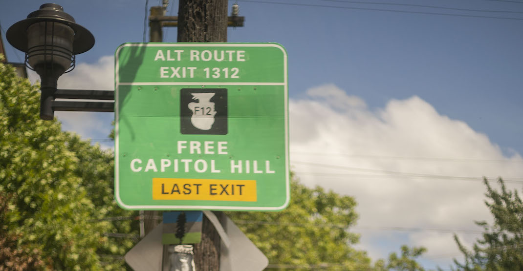 Watch what's going on at the Capitol Hill Autonomous Zone (VIDEO)