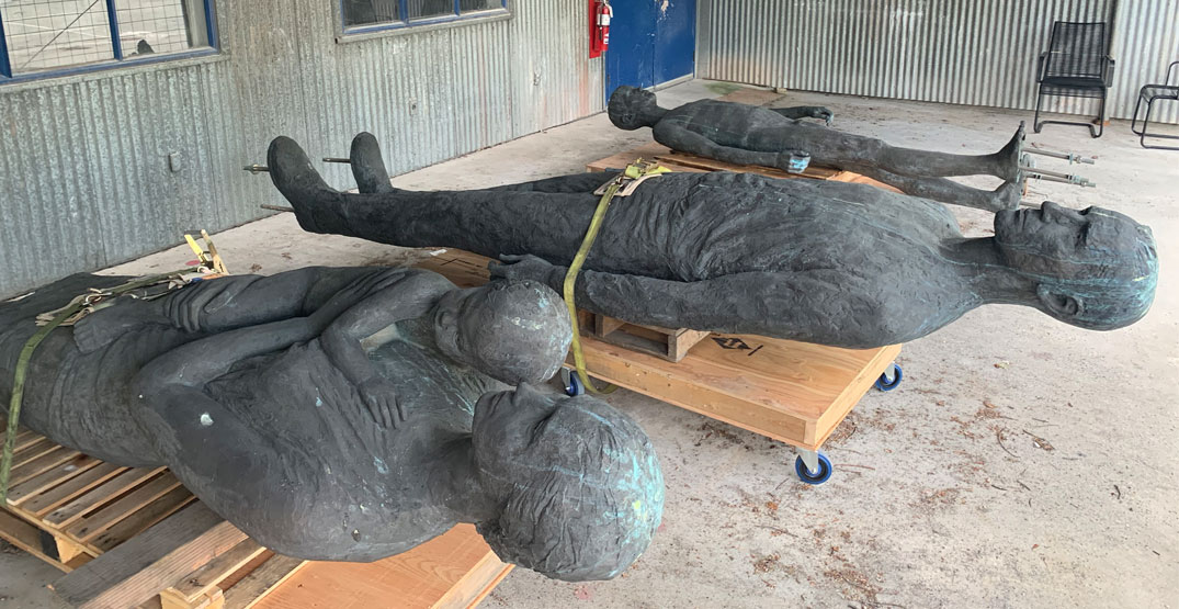 The Family sculpture is coming home to Vancouver