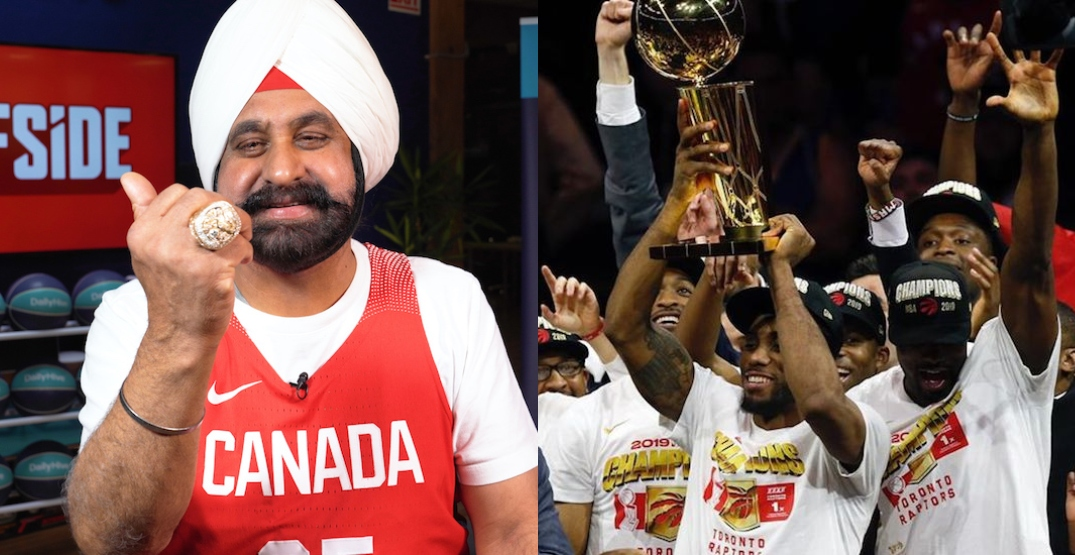 Superfan Nav Bhatia shares memories of Raptors championship (VIDEO)