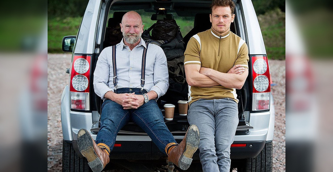 Two actors from Outlander are starring in a new travel series (VIDEO)