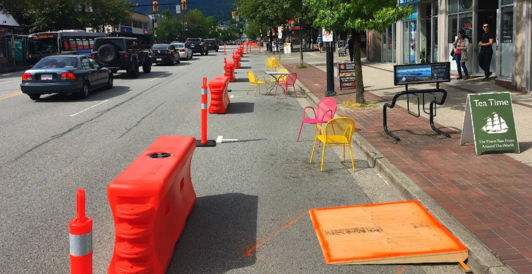 North Vancouver repurposing 12 km of roads for pedestrians and patios