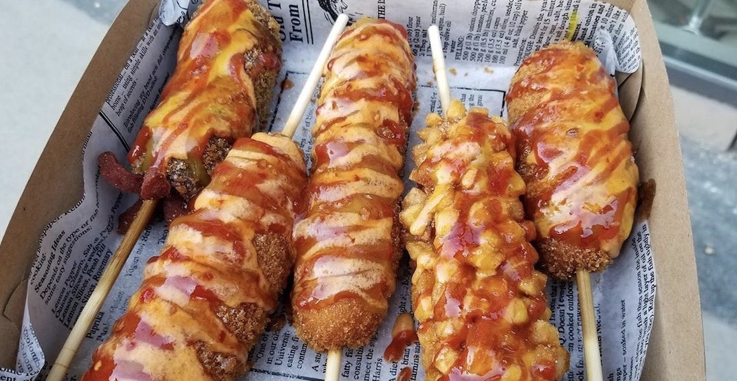 """Korean rice hot dog spot """"Chung Chun"""" is opening in Vancouver"""