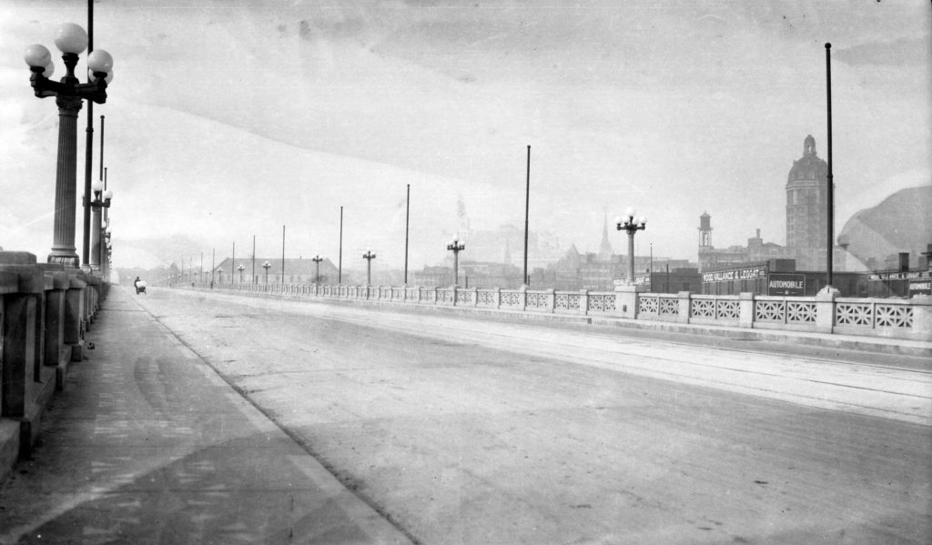 georgia street viaduct 1915