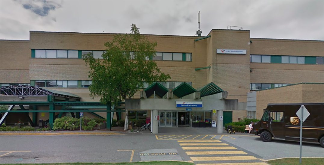 Coronavirus case confirmed in care home at Langley Memorial Hospital