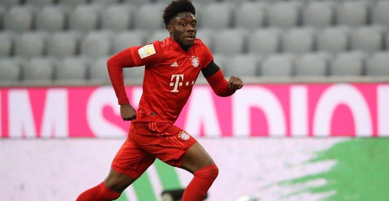 Alphonso Davies sets new Bundesliga speed record in title-clinching match