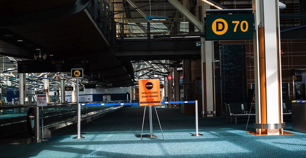 A very empty Vancouver International Airport (PHOTOS, VIDEOS)