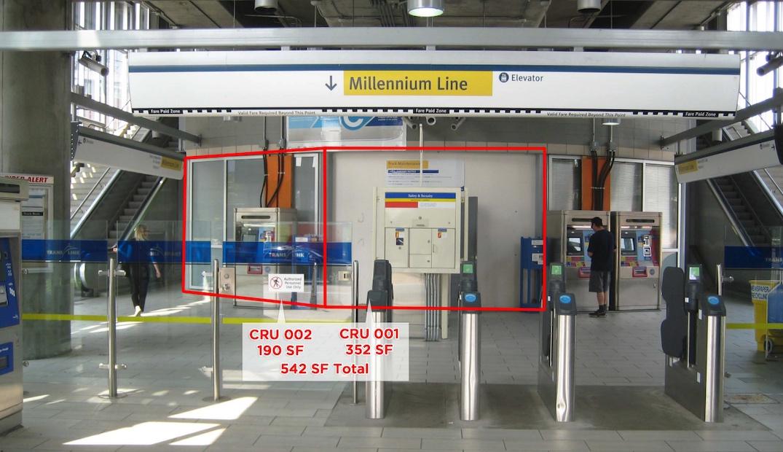 holdom station retail units