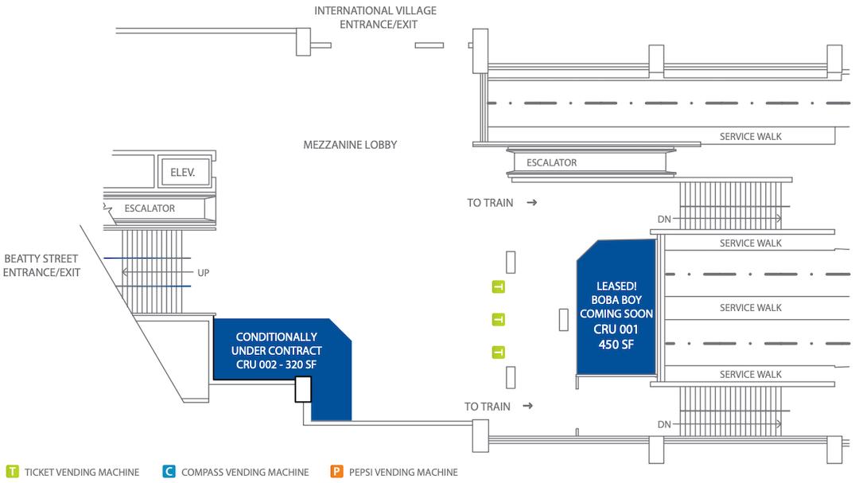 stadium-chinatown station retail units