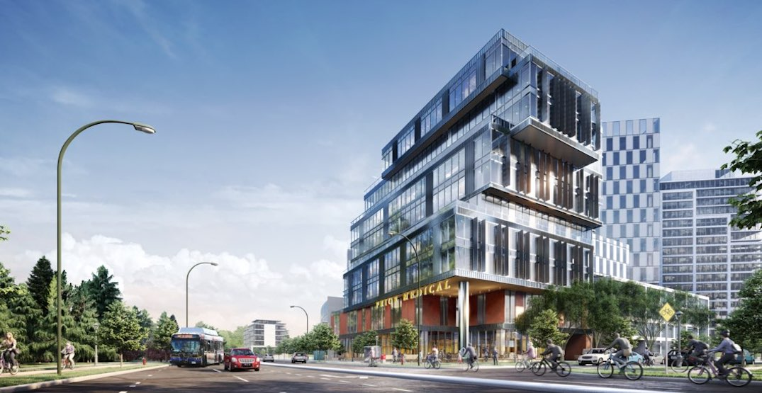 New medical office tower proposed next to future St. Paul's Hospital campus